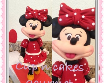 Minnie Mouse Heart topper