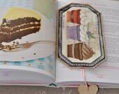 Marcadores de libros de Cupcakes