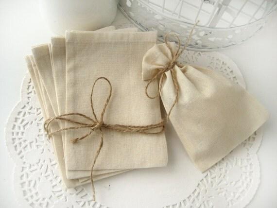Wedding Favor Muslin Bags : Muslin favor bags - Set of 150- Wedding favor bags -DIY wedding favor ...