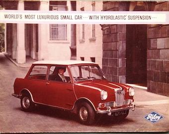Original 1960's Riley Elf Mark 2 brochure