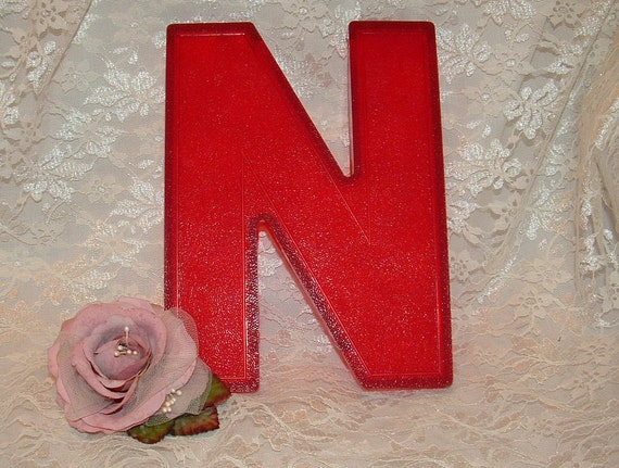 n3939 red plastic marquee letter for home decor 8 With slotted marquee letters