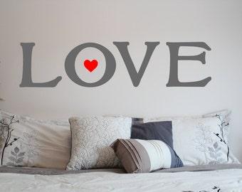 LOVE  Vinyl Sign/Sticker