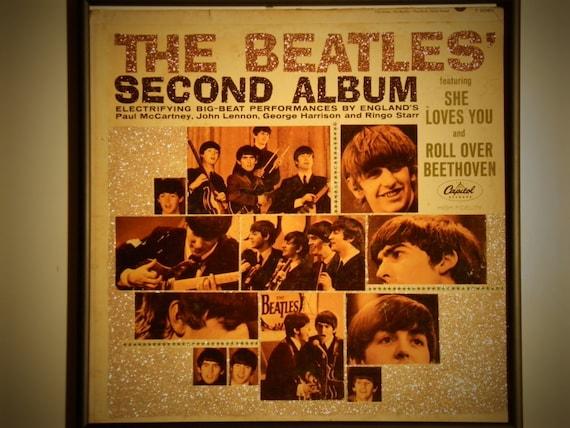 Glittered Record Album - The Beatles - Second Album