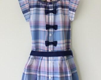 School Days Dress- 4T