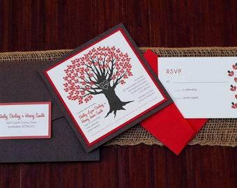 Sweetheart Basic Wedding Invitation Set