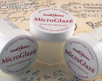 1- JudiKins MicroGlaze for InkJet Prints