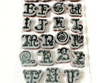 Recollections Cling Stamp - Alphabet 171815