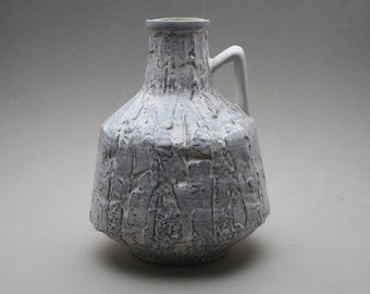 Ilkra keramik fat lava vase made in 1956