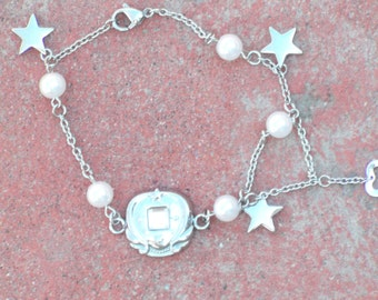 Sailor Prop Cosplay Moon PGSM Silver Braclet
