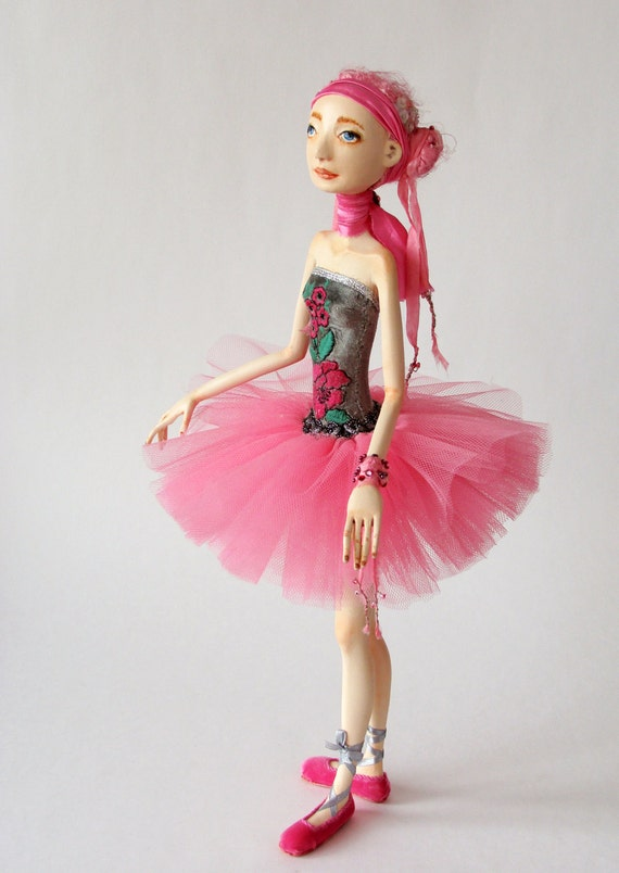 "Art Doll ""Ready for a dance"""