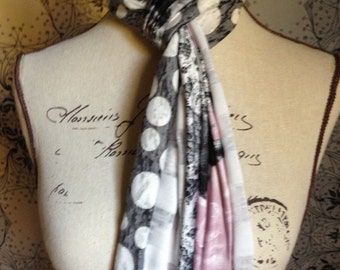 "Ladies Multi-Colour Scarf. This Design is Called the ""Tina"""