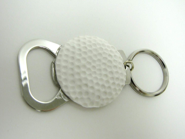 golf ball bottle opener keychain gift for him by frozenfairytale. Black Bedroom Furniture Sets. Home Design Ideas