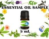 Essential Oil Ginger 5 ml. Sample - Pure Essential Oil - Aromatherapy Oils - Earth Botanics  - Soap Fragrance Oil - Essential Oils
