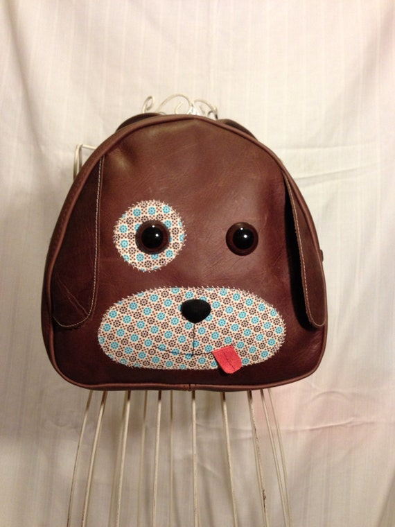 Handmade Puppy Leather Toddler Backpack