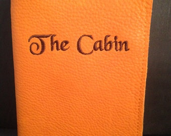 Leather Journal Cover refillable made to order journal/Gifts for him/personalized gift for her