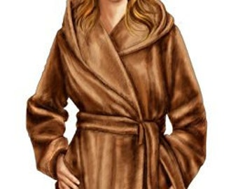 5709 Personalized Coat Sewing Pattern - Women Jacket, Ladies Clothes, PDF pattern