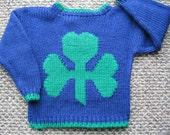 Shamrock Sweater for Children