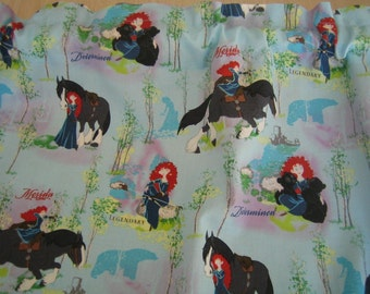 """Reserved - Brave Merida 100% Cotton fabric by the yard 41.5"""" wide x 39"""" long"""