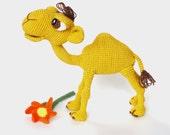 Amigurumi Pattern (Crochet) - Quasimodo the Camel