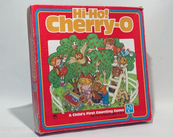 Hi-Ho Cherry-O Counting Game from Golden 1985 (read description)