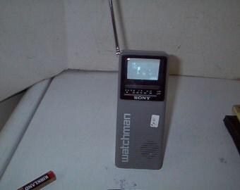 Working Sony Walkman Portable TV