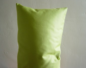 "12"" by 20"" Green Pillow Cover"