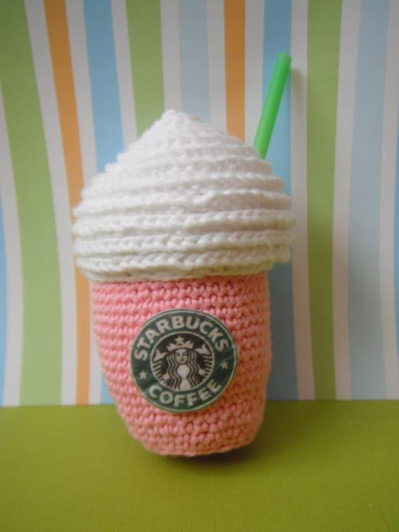Amigurumi Starbucks : Starbucks coffe and milkshake amigurumi by Mamugurumi on Etsy
