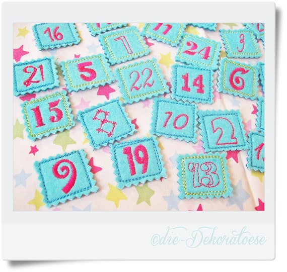 Calendar Embroidery Design : Unavailable listing on etsy