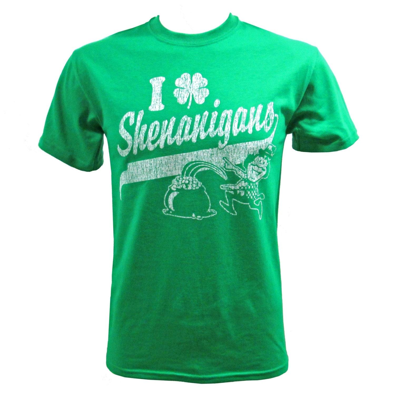 Saint Patricks day I Clover Shenanigans T-Shirt