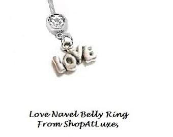 LOVE Navel Belly Ring