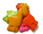 Giraffe Crayons set of 10 - party favors