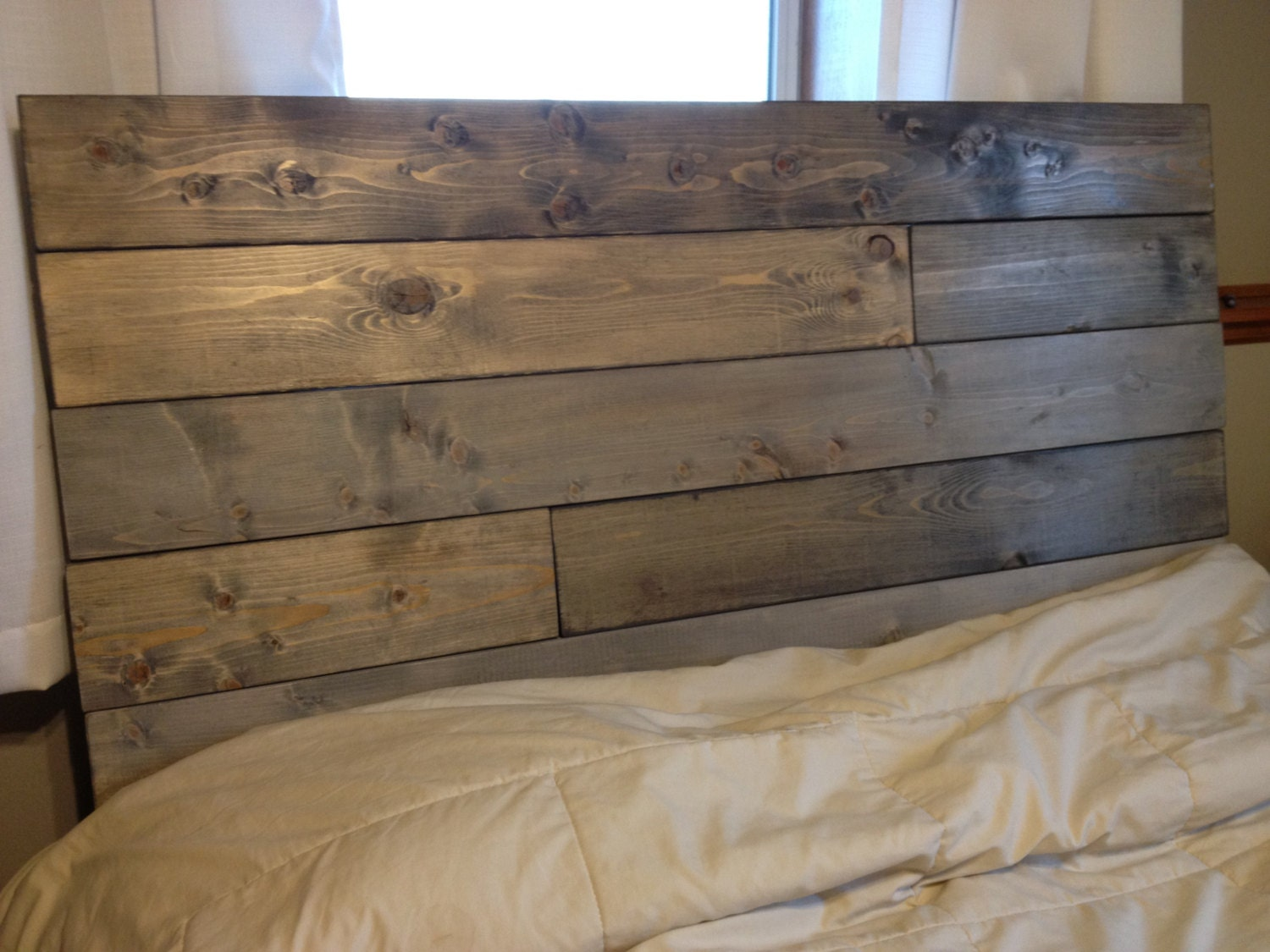 For Brittany..rush order-Rustic headboard Maisie