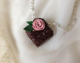 Valentine Chocolate Candy Necklace