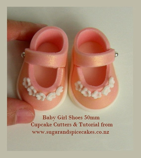 Items Similar To Cutters Amp Tutorial For Baby Shoe Use With