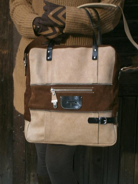 City Rush Caramel Bag,Leather Handmade Bag,15 inch Laptop bag,Large  Bag, Leather Laptop Bag, Tote Bag, Office Bag, School Bag