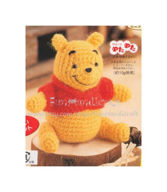 Items similar to Disney Winnie the pooh Amigurumi Pattern ...