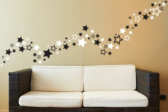 Items Similar To 80 Star Wall Decals Stars Wall Decals