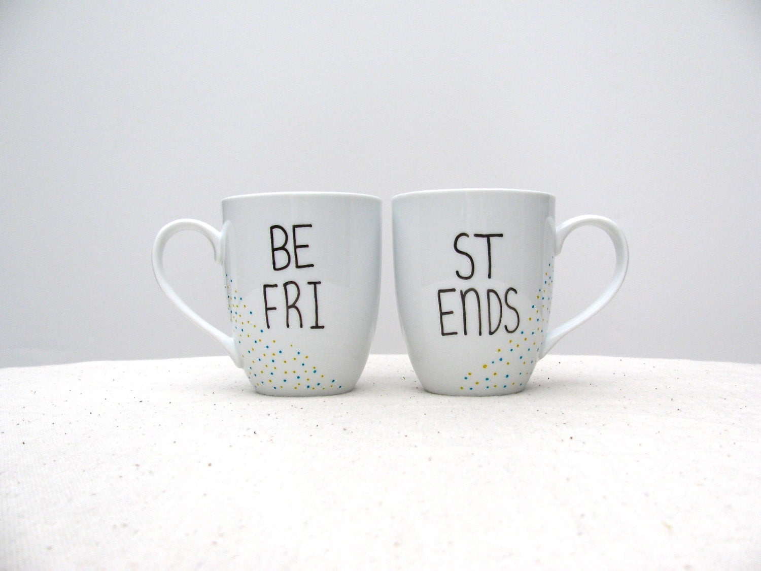 Best Friend Mugs Be Fri And St Ends