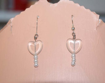 Heart earrings and silver earrings Close Out Sale! Must sell ASAP..Clearance Sale! Liquidation Sale! Buy by January 25th.