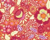 Fabric Taza 'Caroline' Red by Dena Designs for Free Spirit