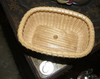 Nathan Taylor Nantucket Inspired Business Card Size Basket Very Fine