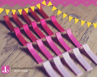 20 - YOU PICK - Partially Lined Alligator Clips
