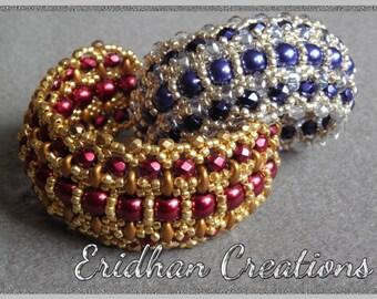 """Beaded bracelet - """"Byzantine"""" - tutorial"""