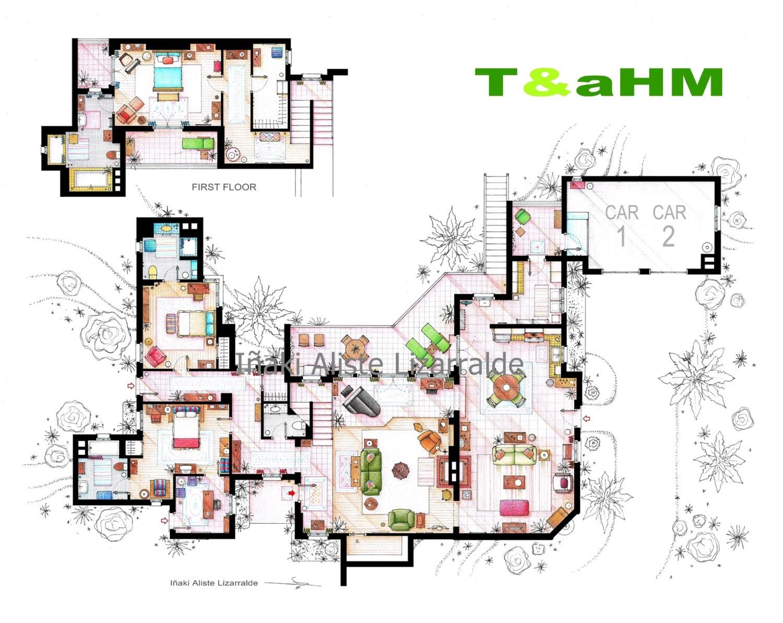 Family Guy Floor Plan