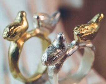 Double Bird Ring