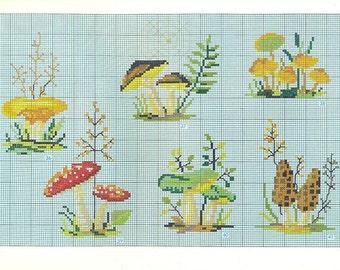 DMC Scandinavian Counted Cross Stitch Pattern Chart Booklet from France Point De Croix