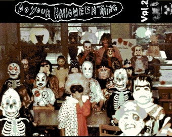60 mins Obscure Halloween Music From the 50's 60's and 70's  - Do Your Halloween Thing Vol.2 - Professionally Mastered