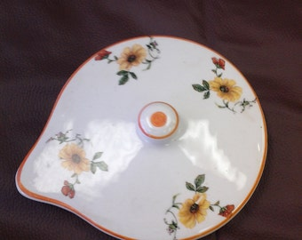 Vintage Yellow Flower Replacement Lid