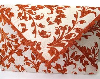 Fancy Floral Glitter Envelope boxes Qty 5 Favor Wedding Rose gold copper  Envelopes Custom size Box-a-Lope