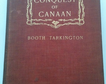 Vintage Book - The Conquest of Canaan - 1900's
